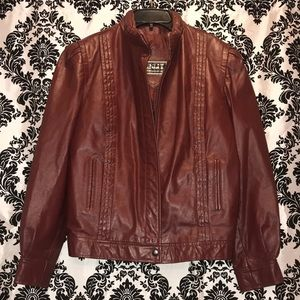 Winlet women's leather jacket size L